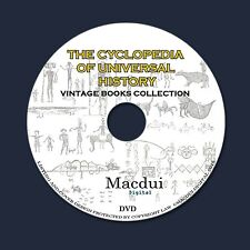 The Cyclopedia of Universal History Vintage Books Collection 16 PDF E-Books DVD