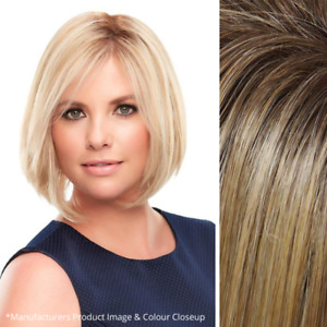 "Imperfect easihair easiPart 8"" Topper - 100% Human Hair - Color 24B/27CS10 Blond"