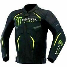 Monster Racing Biker Motorbike Leather Jacket Motorcycle Leather Jackets CE