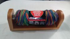 Yarn Skein Holder Unwinder Dispenser Wood Crochet Knit Valet Bonus Skein