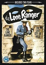 The Lone Ranger/The Lone Ranger And The Lost City  DVD (2013) Clayton Moore New
