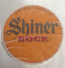 Shiner Bock Texas Beer Coasters Ram Horns Microbrew Stack of 100 NOS