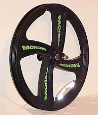 "Bicycle Wheel 20"" Front Nylon Mongoose Mag Black 3/8"" New #WF67"
