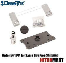 DRAWTITE HIDE A GOOSE HEAD FOR 2014-2018 RAM 2500, GOOSENECK TRAILER HITCH 9467