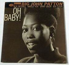 """Big John Patton Blue Note 4192 LP """"Oh Baby""""  ~ DG ~ NY,USA ~ RVG~ Ear~Very Clean"""