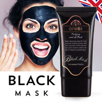 Charcoal Face Mask Peel Off Black Mask Deep Clean Blackhead Acne Dirt Remover UK
