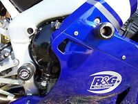R&G White Classic Style Crash Protectors for Yamaha YZF-R1 2002