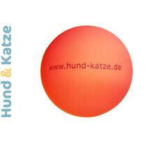 5 x SPIELBALL, BALL GUMMI GLATT LUFTBEFÜLLT SCHWIMMT SPRINGT STABIL, ROT, 5,5 cm