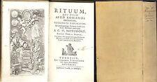 Nieupoort: Rituum qui olim  apud romanos obtinuerunt Venezia 1746