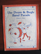 The Drum & Bugle Band Parade by Palmer - 1982 sheet music- Level 1A Piano Solo