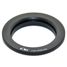 Adaptateur Bague Objectif Leica M39 LTM vers Boitier Samsung NX10 NX100 NX11 NX5