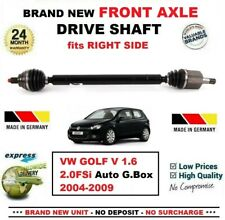 FOR VW GOLF V 1.6 2.0FSi Auto Gearbox 2004-2009 NEW FRONT AXLE RIGHT DRIVESHAFT