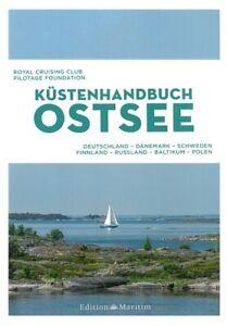 Küstenhandbuch Ostsee Karten/Häfen/Handbuch/Revier-Führer/Küste/Marinas/Buch