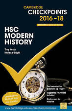 NEW Cambridge Checkpoints HSC Modern History 2016-18 by Troy Neale