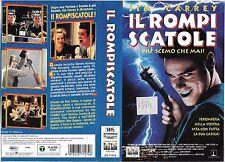 IL ROMPISCATOLE - PIU' SCEMO CHE MAI! (1996) vhs ex noleggio