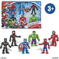 Playskool MarvelSuper Hero Adventures 6-Pack Action Figures Toys - New 2020
