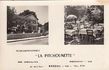 """BANDOL relais gastronomique """"la pitchounette"""" double-vue"""