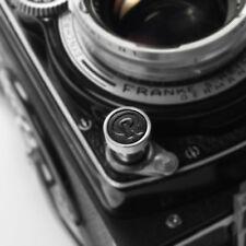 Exquisito Hecho De Metal Y Cuero Suave botón del obturador-Rolleiflex