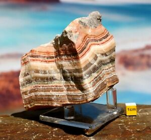 Banded / Aztec / Inca Calcite - Raw Natural Mineral Specimen Crystal 768g