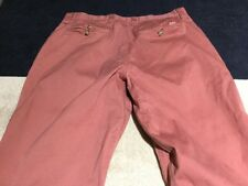 Mountain Khakis 33x29 Faded Red Pants