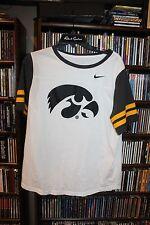 University of Iowa Hawkeyes Nike T Tee Ladies sz xL  (bin119)