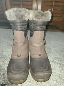 The North Face Women's Chilkat Tall Pull-On Winter snow Boots - Brown - Size 9