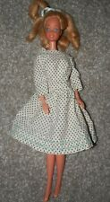 Barbie 1966 Doll blond Hair vintage  in dress blue eyes