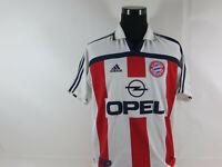 Vintage FC Bayern München Trikot Größe M Adidas Jersey Maillot kurzarm OPEL