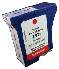 Pitney Bowes K700 797-0RN RED Ink Cartridge Franking Machine DM50 DM50i DM55