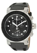 NEW Mens Invicta 10745 Reserve Swiss Made Ocean Reef Chronograph Leather Watch