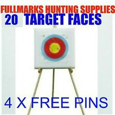 ARCHERY TARGET STAND SELF HEALING FOAM TARGET 20 PAPER FACES