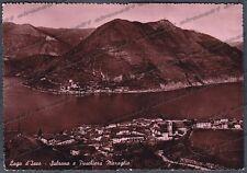 BRESCIA SULZANO 02 PESCHIERA MARAGLIO - MONTE ISOLA Cartolina FOTOG. viagg. 1954