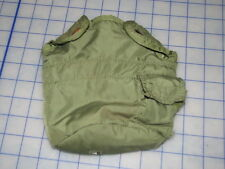 lot of 2 OD green military canteen cover alice USED US genuine surplus 1 quart