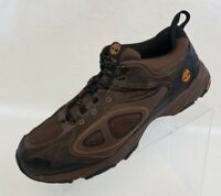 Timberland Oxfords Hiking Mens Brown Black Leather Lace Up Shoes Size 10M