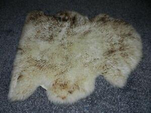 THE TANNER NEW ZEALAND GENUINE CLASSIC SHEEPSKIN AREA RUG CREAM BROWN