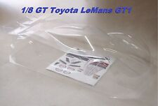 Karosserie 1/8 GT Rallye 0170 - Toyota GT1 Le Mans 2012 + Querruder + klebstoffe