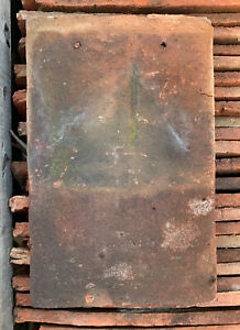 Reclaimed Clay Coverwell Roof Nib Tiles 90p Per Tile - Around 3500 Available