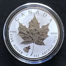 2016 Canada Timber Wolf Privy Maple Leaf 1 oz Silver Canadian Reverse Proof Coin