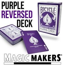 Purple Reversed Deck in Bicycle Card Stock! - Purple Reversed Bicycle Cards