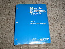 2007 Mazda B-Series Truck Shop Service Repair Manual B2300 B3000 B4000 DS SE