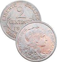 2 Centimes DUPUIS 1899-1920 choisissez votre année