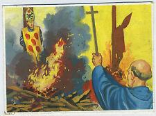 Original 1960 Gouache painting for Trading card Portugal Carlos Alberto Santos f
