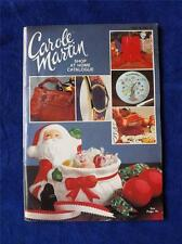 CAROLE MARTIN SHOP AT HOME CATALOGUE CATALOG VINTAGE HOUSEWARES JEWELRY ORNAMENT