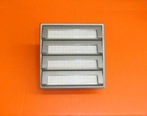 Siedle TM 511-04 T Klingeltaster 4fach Tastenmodul TITAN (silber) TOP