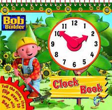 Bob the Builder Clock Book by Egmont UK Ltd (Board book, 2008)-F016