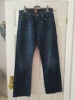 Mens Hugo Boss EUC Jeans 33W 32L