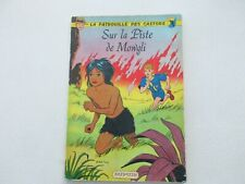 PATROUILLE DES CASTORS T4 BE/TBE SUR LA PISTE DE MOWGLI EDITION ORIGINALE 1959