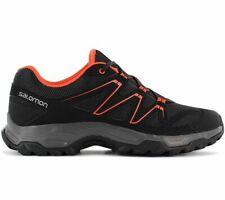 Salomon HALIFAX Herren Wanderschuhe Schwarz 408670 Outdoor Walking Schuhe NEU