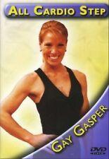 ALL CARDIO STEP STEPPING GAY GASPER CIA 2801 DVD NEW SEALED STEP AEROBICS