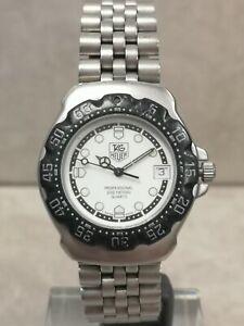 TAG Heuer Formula 1 Black/Steel Quartz Wristwatch WA1218